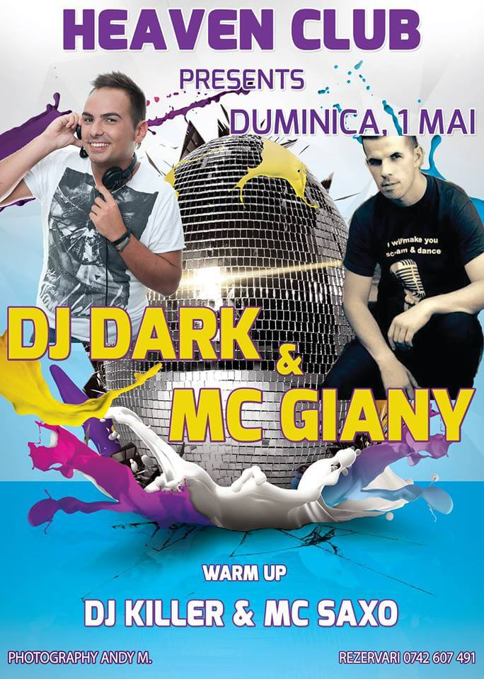 Dj Dark & Mc Giany @ Club Heaven (Sabaoani)
