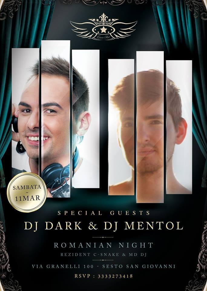 Dj Dark @ Dj Mentol (Queen Club Milano)