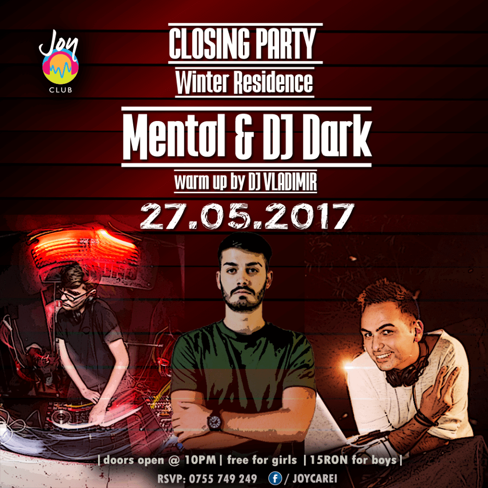 Dj Dark & Mentol @ Joy Club (Carei)