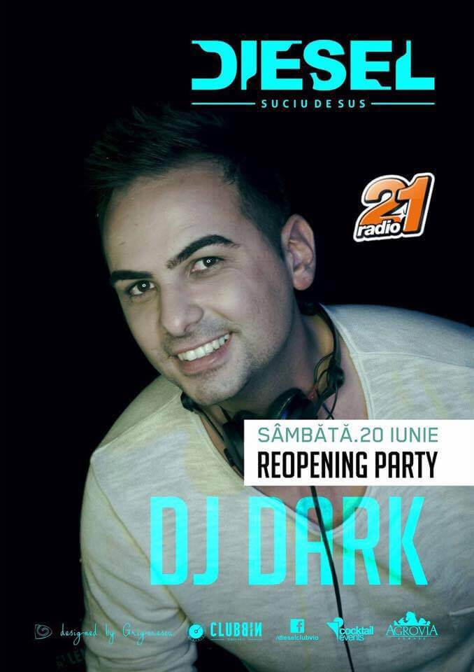 Eveniment Dj Dark (Diesel Club Suciu de Sus)