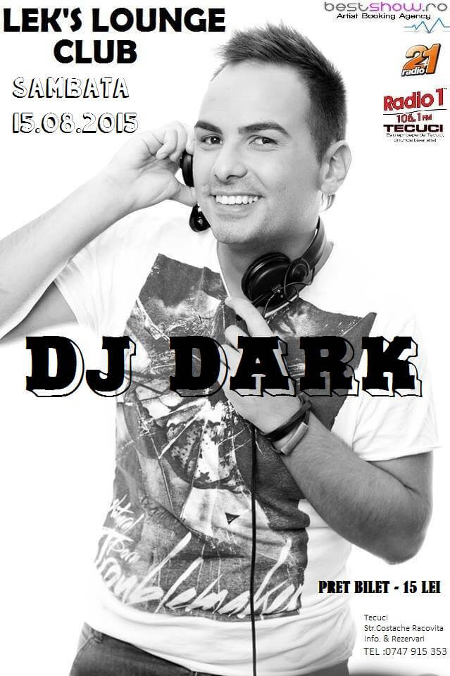 Dj Dark @ Leks Lounge (Tecuci)