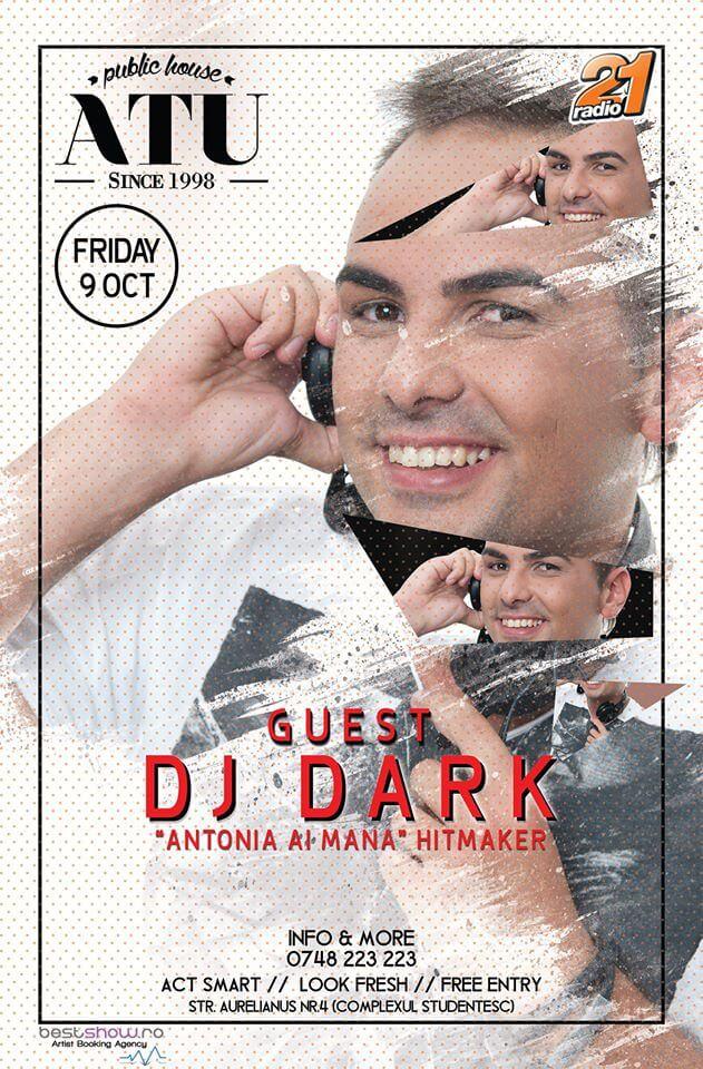 DJ Dark @ ATU Pub (Timisoara)