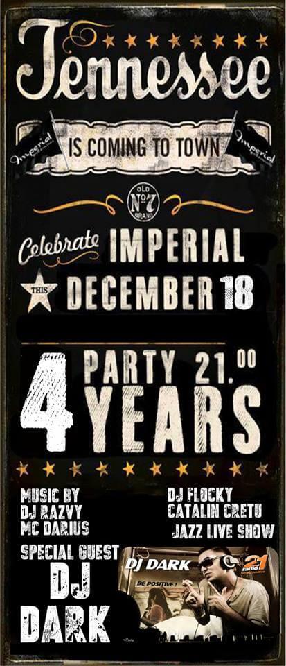 Dj Dark @ Imperial Pub & Grill (Falticeni)