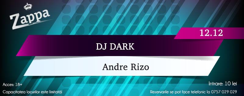 Dj Dark & Andre Rizo @ Zappa Club (Ploiesti)