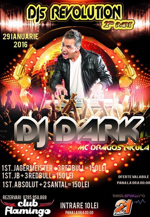 Dj Dark @ Club Flamingo (Cernavoda)