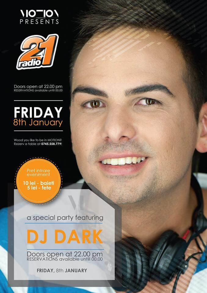 Dj Dark @ Motion Club (Drobeta)