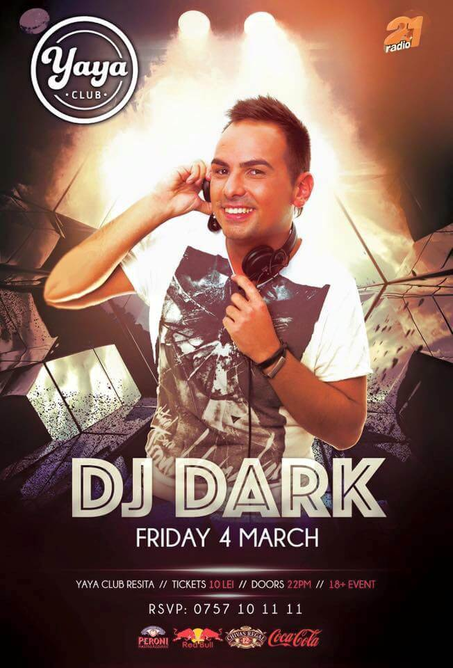 Dj Dark @ Yaya Club (Resita)