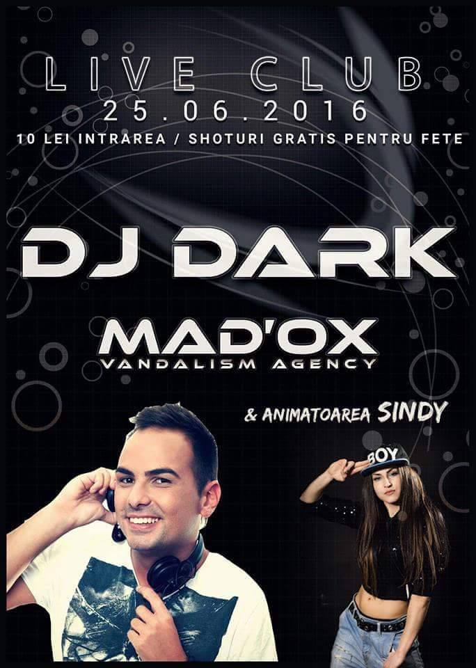 Dj Dark @ Live Club (25.06.2016)